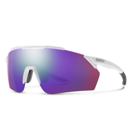 Smith SMITH, Sunglasses, Ruckus, Matte White Frame, Chromapop Violet Mirror Lens