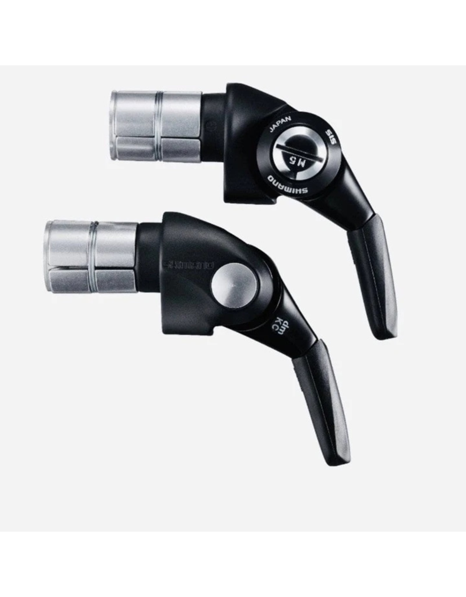 Shimano SHIFT LEVER BAR END TYPE, SL-BSR1, DURA-ACE, 2/3X11-SPEED, INNER:2600X2000MM OUTER:800MM(SP41 NORMAL)X2 / 300MM(SP41 SEALED) HI-TECH-GRAY, IND.PACK