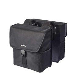 Basil BASIL, Go Double Bag, Double bag, Solid Black