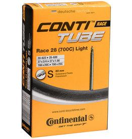 Continental CONTI, Tube, 700x18-25, Presta, 80mm, Light