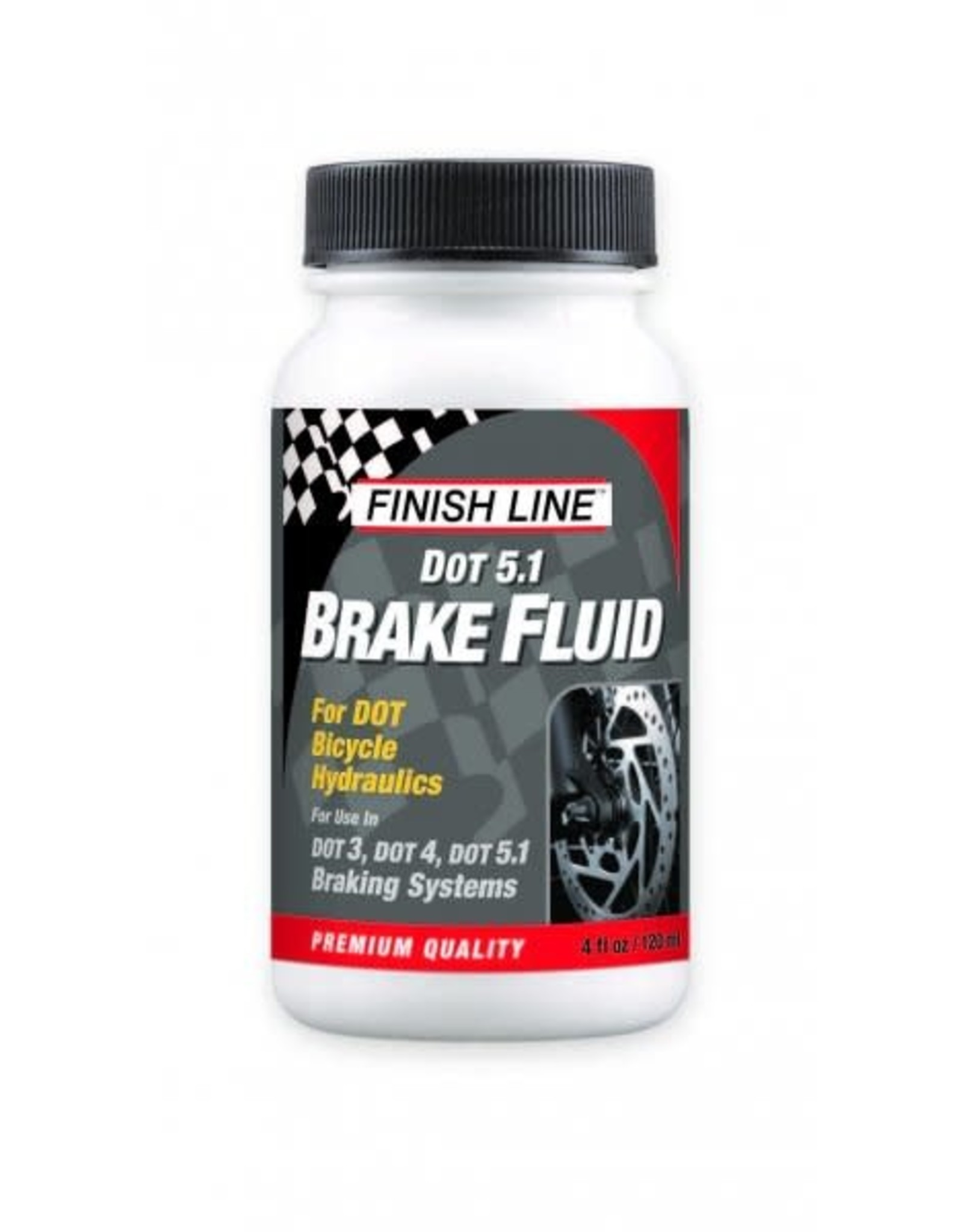 FINISH LINE Finish Line DOT Brake Fluid 4oz Big Mouth