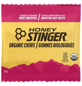 Honey Stinger HONEY STINGER,  Organic Energy Chews, Fruit Smoothie single