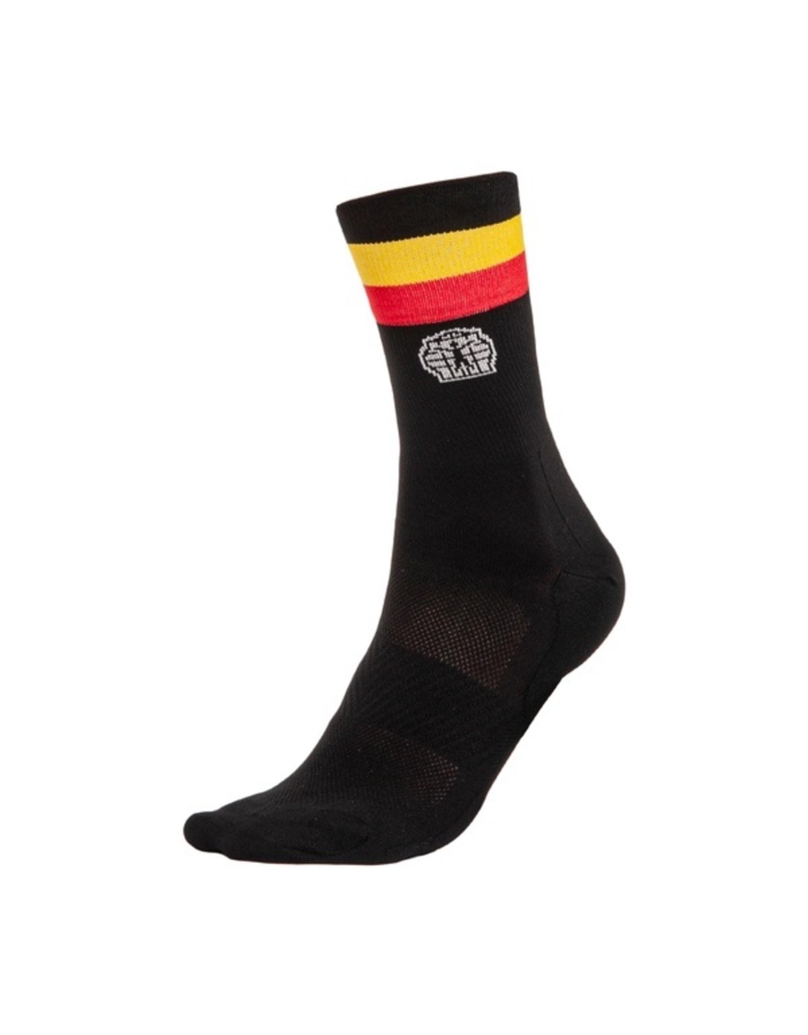 Bioracer '21, BIORACER, Belgium Sock Black