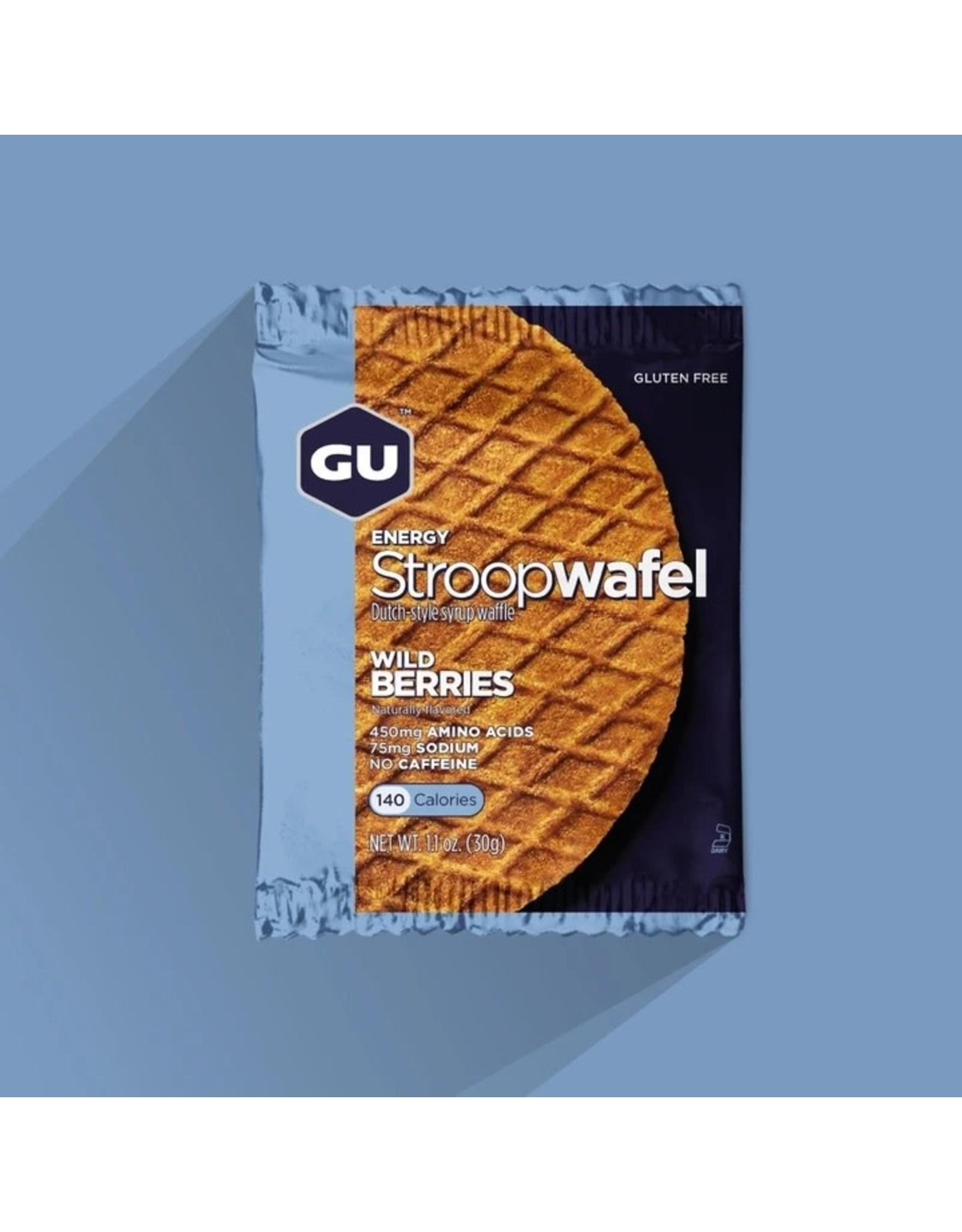 GU Energy Labs GU, StroopWafel, Wild Berry