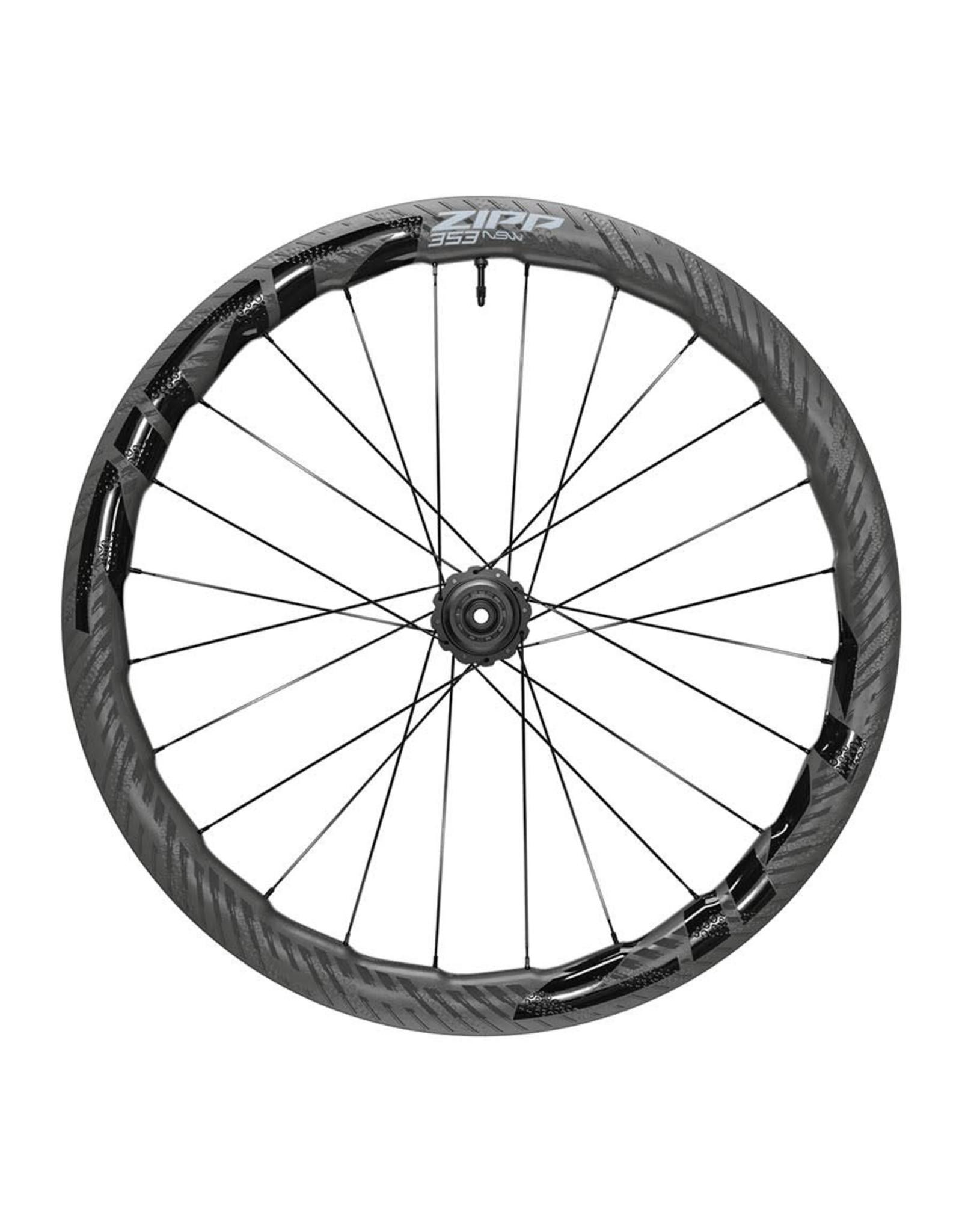 Zipp Zipp 353 NSW Tubeless Disc A1 Wheelset 12x100/12x142 DCL shimano 11
