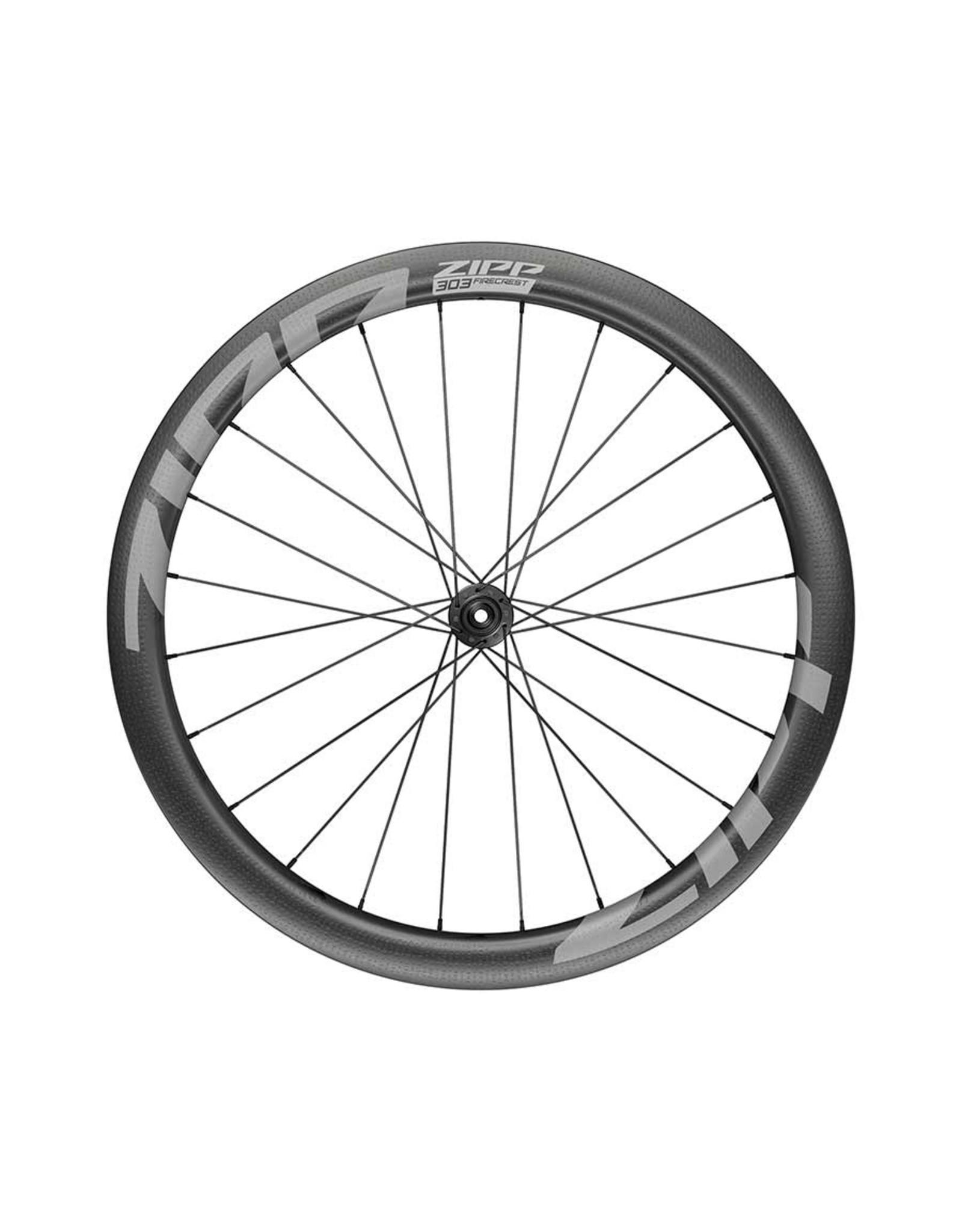 Zipp Zipp, 303 Firecrest Disc A1, Wheelset, Pair, 700C / 622, Holes: 24, 12mm TA, 100mm/142mm, Disc Center Lock, XD-R