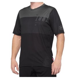 100% '21, 100%, Airmatic Jersey, Black/Charcoal