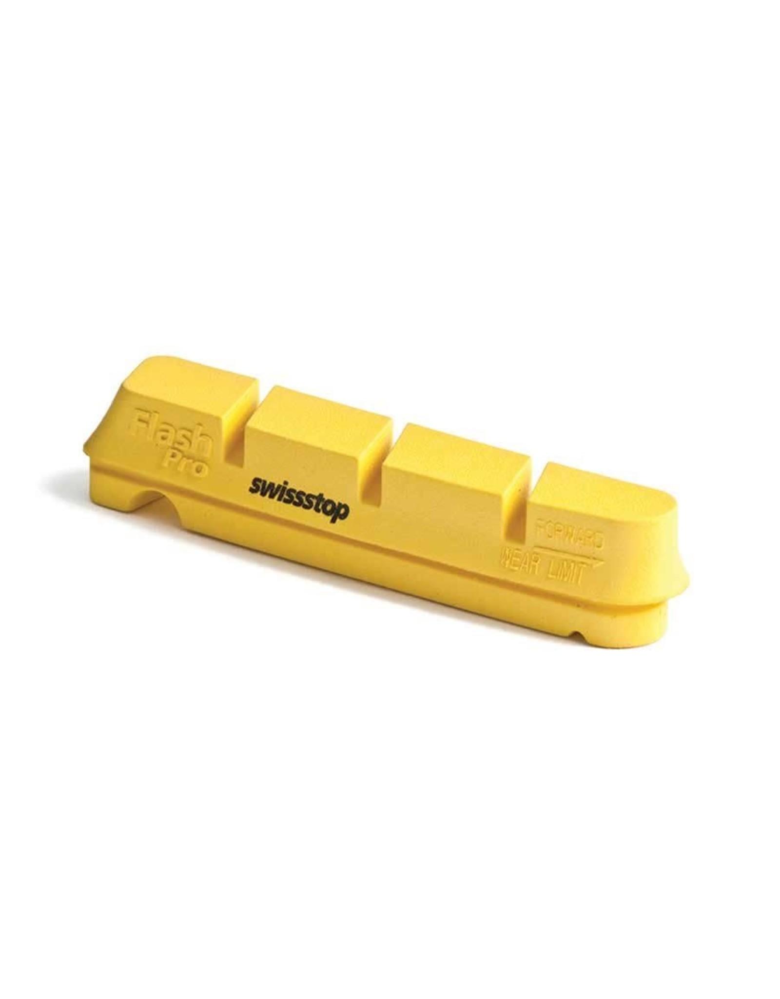 SwissStop SWISSSTOP, Yellow King flash Pro, Campagnolo carbon rims