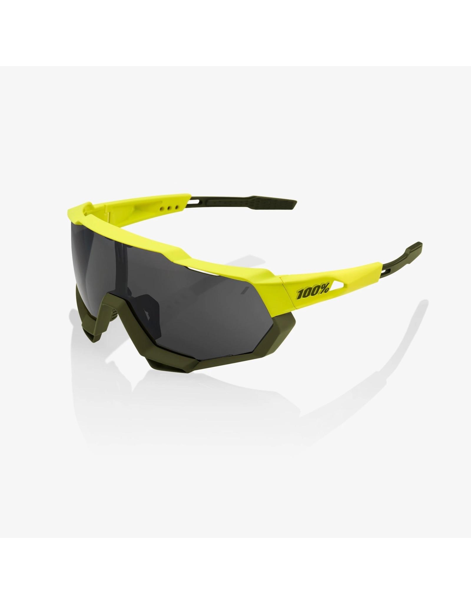 100% 100%, Speedtrap, Soft Tact Banana/Black Mirror Lens