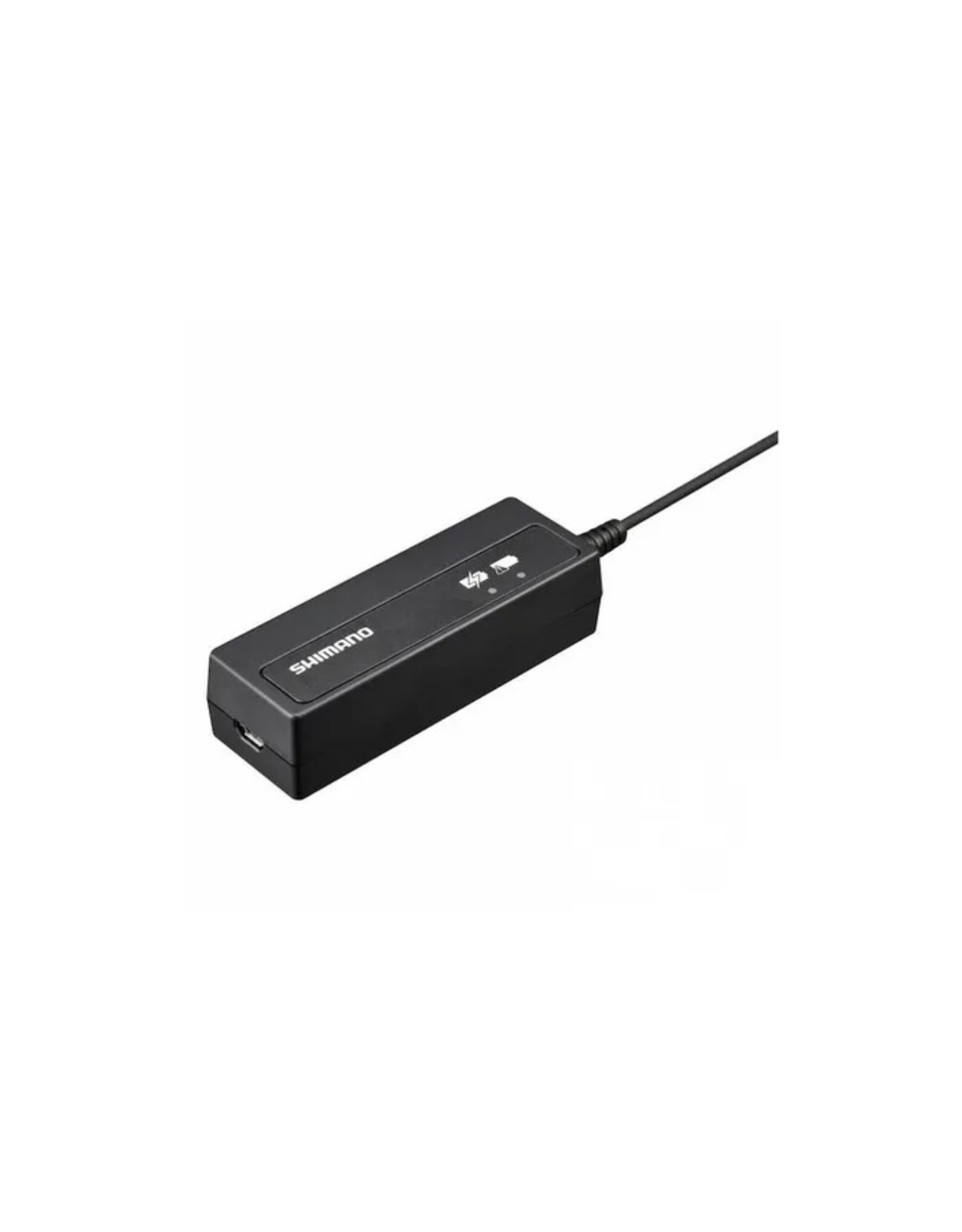 Shimano BATTERY CHARGER, SM-BCR2, FOR SM-BTR2 INCLUDING CHARGING CORD FOR USB PORT, IND.PACK