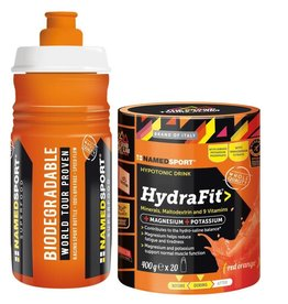 NAMEDSPORT NAMEDSPORT, Hydrafit, Hydra Mix, Red Orange, with Water Bottle