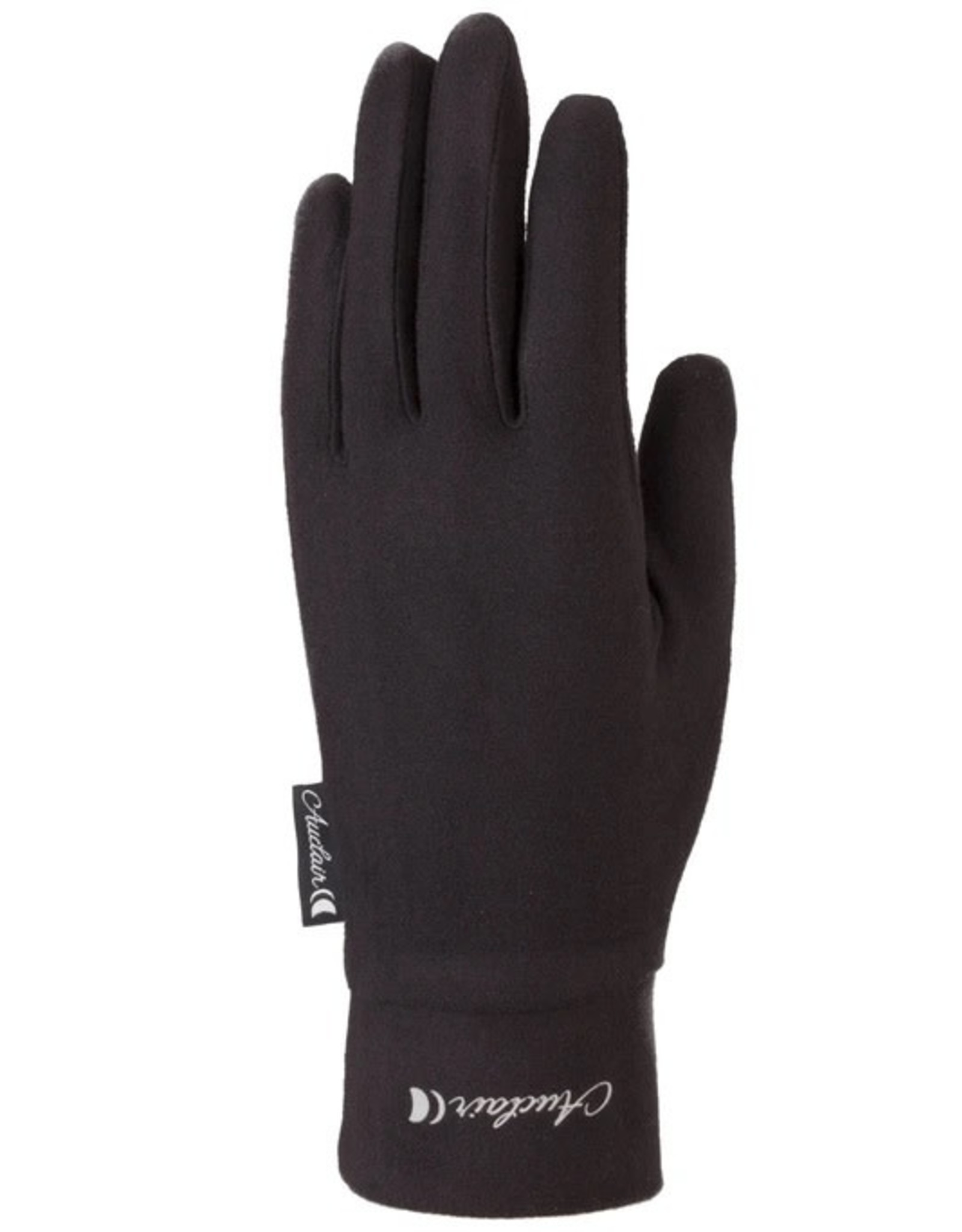 Auclair '22, AUCLAIR, Wool Blend Liner Glove, Women's, Black