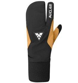 Auclair '22, AUCLAIR, Stellar 3-Finger Gloves, Women's, Black and Tan