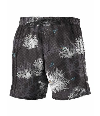 POINT ZERO Printed Signature Board Short BlackSea