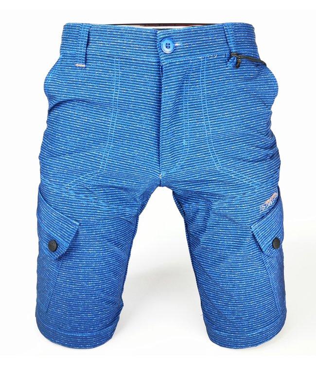 Signature Board Shorts Cobalt Stripe