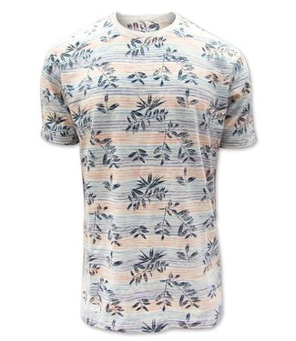 POINT ZERO Paint Stripe T-Shirt