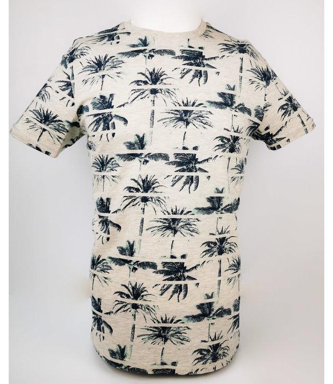 Green Palm Printed T-Shirt