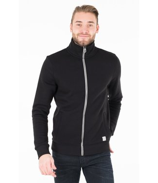 TOM TAILOR JACKET WITH STAND-UP COLLAR (Black)