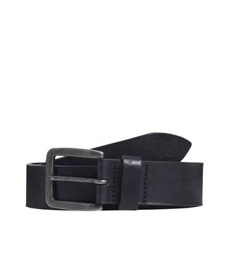 JACK & JONES Leather Belt Black 36-38