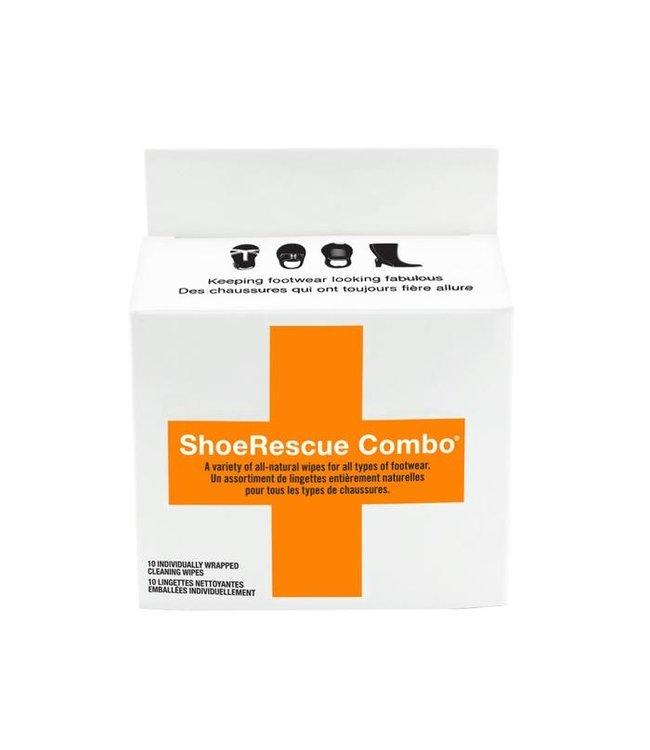 ShoeRescue Combo Wipes