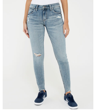 SILVER JEANS Avery Skinny HR