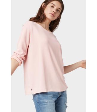 TOM TAILOR Long Sleeve Top with Bow Detail in Back