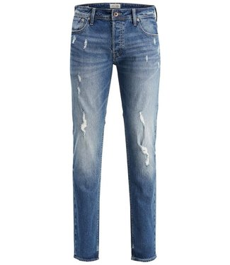 JACK & JONES Tim Slim Fit Jeans with Vintage Details