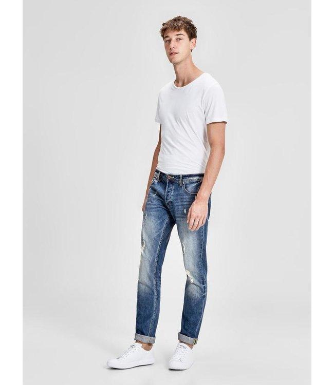 Tim Slim Fit Jeans with Vintage Details