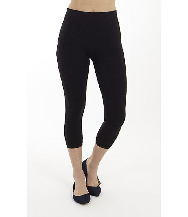 Nylon High Rise Capri Length Legging
