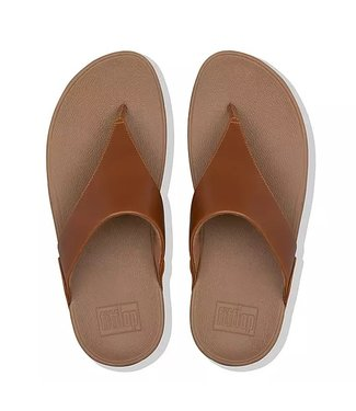 FIT FLOP LULU Leather Toe-Post Sandals