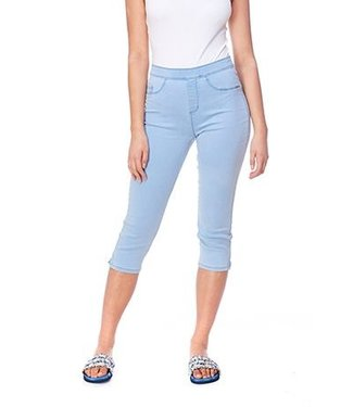 FDJ FRENCH DRESSING D-LUX DENIM PULL-ON CAPRI