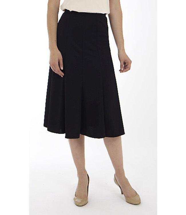 Midi Length Swing Skirt