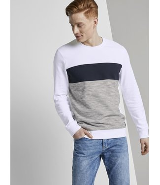 TOM TAILOR Structured Crewneck