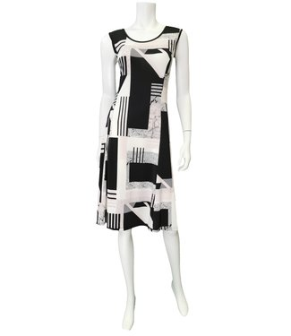 Nu Look Fashions Geo Pattern Dress