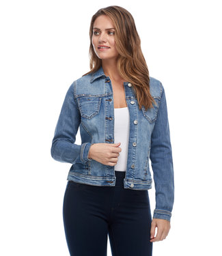 FDJ FRENCH DRESSING STUDDED JEAN JACKET