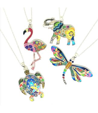 KENNETH BELL Exotic Animal Necklace
