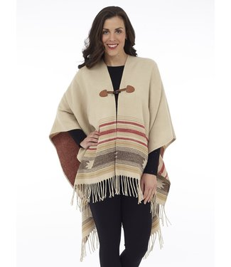 DKR Apparel AZTEC PRINT CAPE