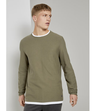 TOM TAILOR STRUCTURED KNIT LIGHT WEIGHT