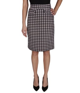 Isca HOUNDSTOOTH SKIRT