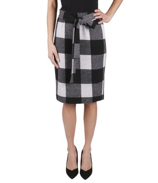 Isca CHECK SKIRT