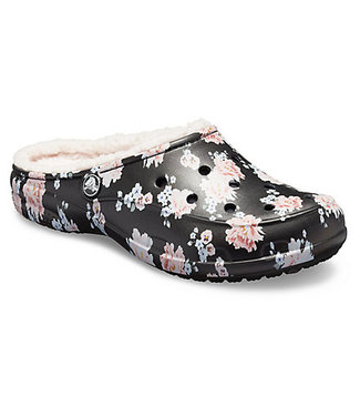 CROCS FREESAIL PRINTED LINED CLOG