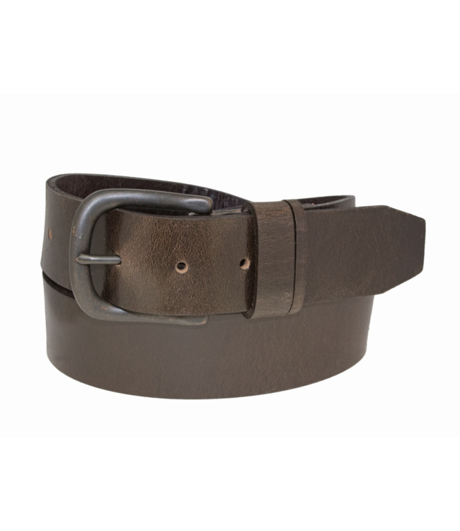 SPLIT LOOP GENUINE LEATHER BELT