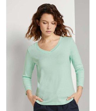 TOM TAILOR T-Shirt V-Neck