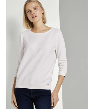 TOM TAILOR Structured Sweat