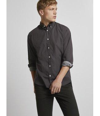 TOM TAILOR Regular Printed Stretch Shirt