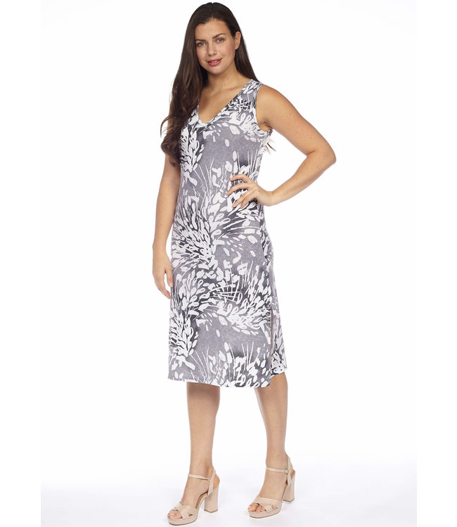 MDI Midi Dress w/ Side Slits