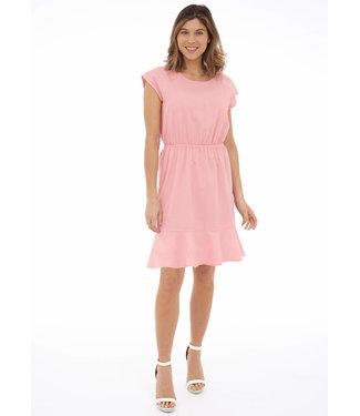 DKR Apparel Dress w/ Elastic Waist And Ruffled Hem