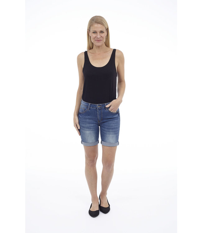 Denim Helena High Rise Short