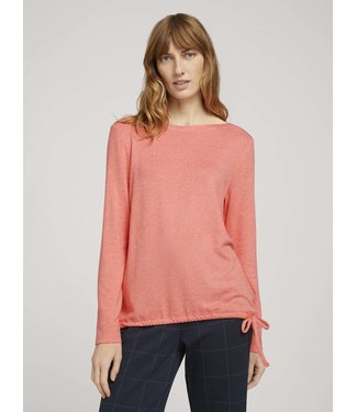 TOM TAILOR T-Shirt Melange