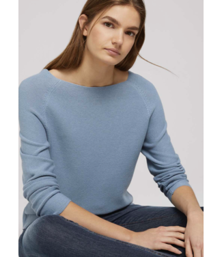 TOM TAILOR Sweater with raglan sleeves made with organic cotton